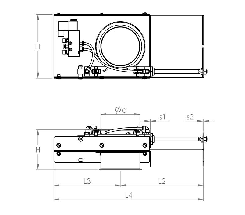 absperrschieber mit dichtung handbet tigt verzinkt rohrsysteme rohre. Black Bedroom Furniture Sets. Home Design Ideas